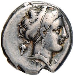 CAMPANIA Neapolis - Didramma (III ...