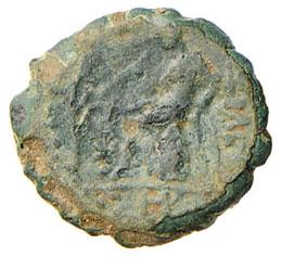 SIRIA Antioco V (164-162 a.C.) AE ...