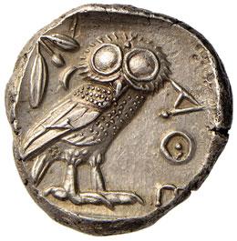 ATTICA Atene Tetradramma (V ...