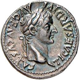 Tiberio (14-37) Denario (Lugdunum) ...