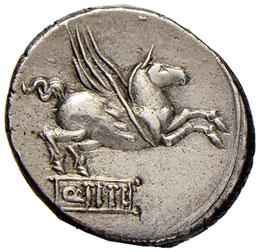 Titia – Q. Titius - Quinario (90 ...