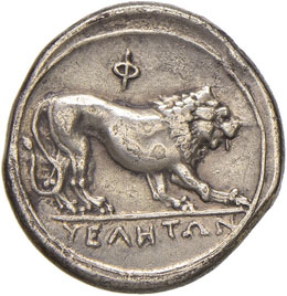 LUCANIA Velia - Statere (300-280 ...