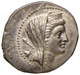 BRUTTIUM Brettii - Dracma (282-303 ...