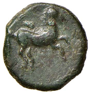 SICILIA Solous AE (300-241 a.C.) ...