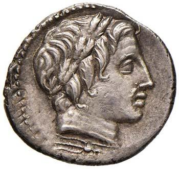 Anonime - Denario (86 a.C.) Testa ...