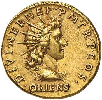 Adriano (117-138) Aureo (117) ...
