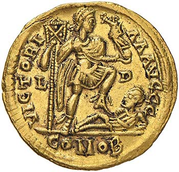 Costantino III (407-411) Solido ...