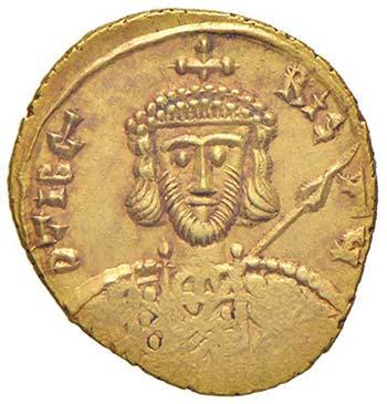 Tiberio III (698-705) Solido ...