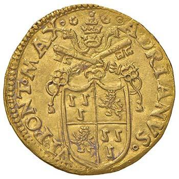Adriano VI (1522-1523) Doppio ...