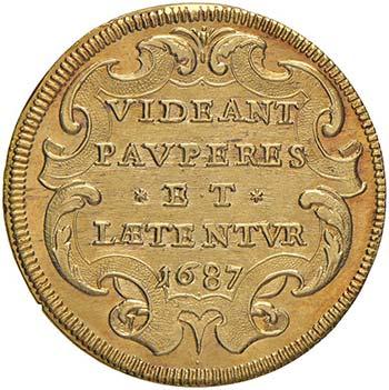 Innocenzo XI (1676-1689) Quadrupla ...