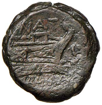 Pinaria (155 a.C.) Semisse - Testa ...