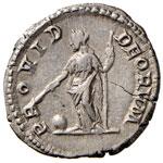 Geta (211-215) Denario - Busto a d. - R/ La ...