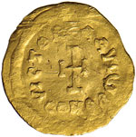 Eraclio (610-641) Tremisse - Busto diademato ...