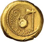 Cesare (+ 44 a.C.) Aureo (46 a.C.) Testa ...