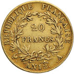 FRANCIA Napoleone (1804-1814) 20 Franchi A. ...