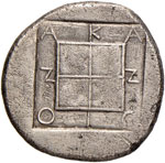 MACEDONIA Acanthus Tetradramma (prima del ...