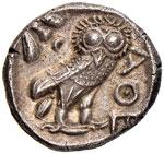 ATTICA Atene Tetradracma (479-393 a.C.) - ...
