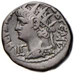 Nerone (54-68) Tetradramma (Alessandria) ...