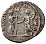 Geta (211-215) Denario (Laodicea) Busto a d. ...