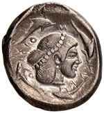SICILIA Siracusa - Tetradramma (485-465 ...