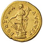 Vespasiano (69-79) Aureo - Testa laureata a ...