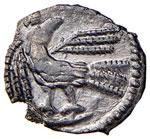 Odoacre (476-493) Mezza siliqua  a nome ...
