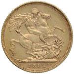 AUSTRALIA Vittoria (1837-1901) Sterlina 1892 ...
