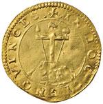 FERRARA Alfonso I (1505-1534) Scudo d'oro ...