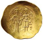 Isacco II (11858-1195) Iperpero - La Vergine ...