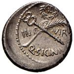 Sicinia - Q. Sicinius - Denario (49 a.C.) ...