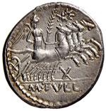 Tullia - M. Tullius - Denario (120 a.C.) ...