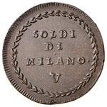 MANTOVA Assedio (1799) 5 Soldi - cfr. Pag. ...
