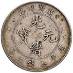 CINA Tientsin - Dollaro (1908) - Dav. 214; ...