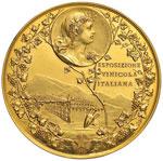 Buenos Aires Medaglia 1896 Esposizione ...