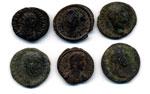 Lotto di sei monete ...