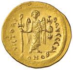 Giustiniano I (527-565) Solido - Busto ...