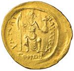 Giustino II (565-578) Solido - Busto ...