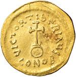 Tiberio II Costantino (578-582) Semisse - ...