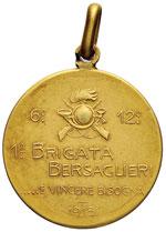 Medaglia 1918 1a brigata bersaglieri - AU (g ...
