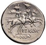 Terentia - C. Terentius Lucanus - Denario ...