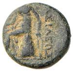 SIRIA Antioco I (280-261 a.C.) AE - Testa ...