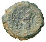 SIRIA Antioco V (164-162 a.C.) AE - Testa di ...