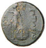 SIRIA Seleuco I (312-280 a.C.) AE - Busto ...