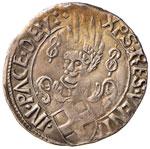 SAVOIA Carlo I (1482-1490) Mezzo testone ...