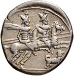 Antestia - C. Antestius - Denario (146 a.C.) ...