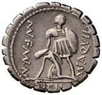 Aquillia - Mn. Aquillius Mn. - Denario (71 ...