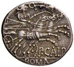 Calpurnia - Publius Calpurnius - Denario ...