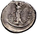 Cordia - Manlius Cordius - Denario (46 a.C.) ...