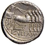 Manlia - L. Manlius Torquatus - Denario (82 ...