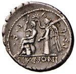 Nonia - M. Nonius Sufenas - Denario (59 ...